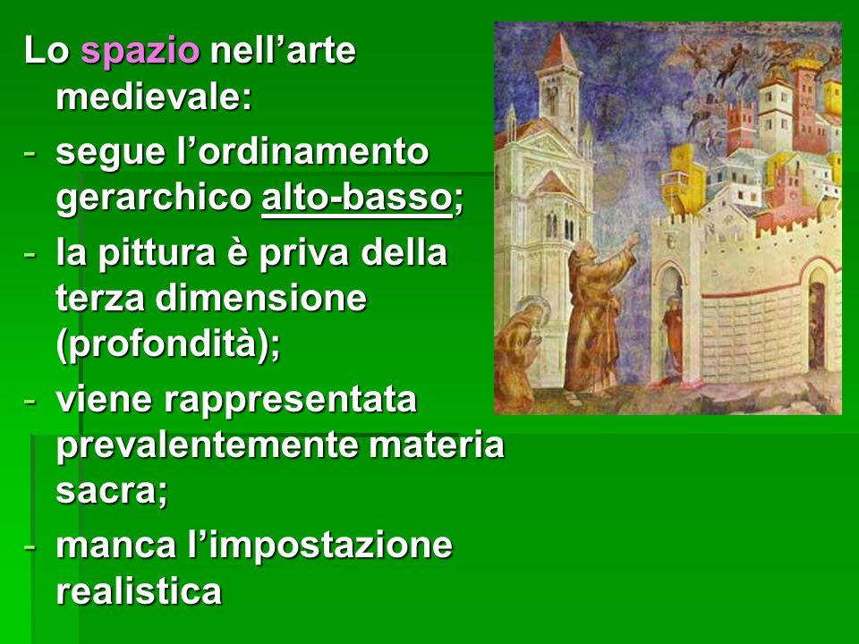 Lo spazio nell'arte medievale: