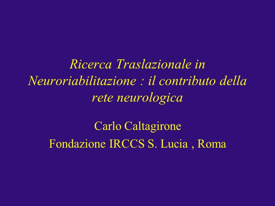 Carlo Caltagirone Fondazione IRCCS S. Lucia , Roma