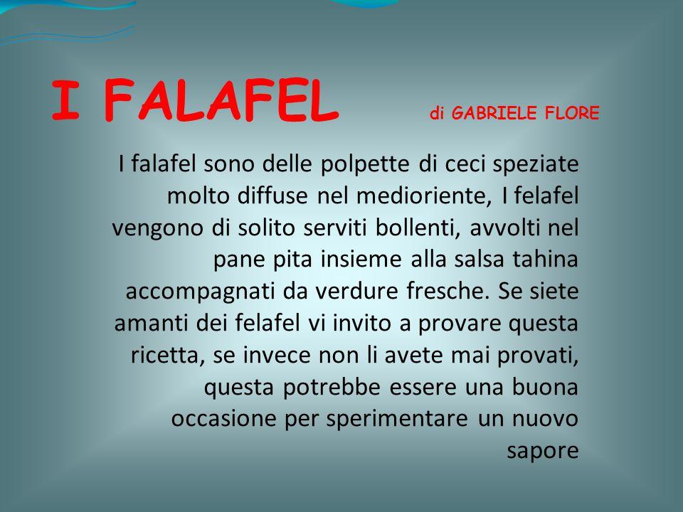 I FALAFEL di GABRIELE FLORE