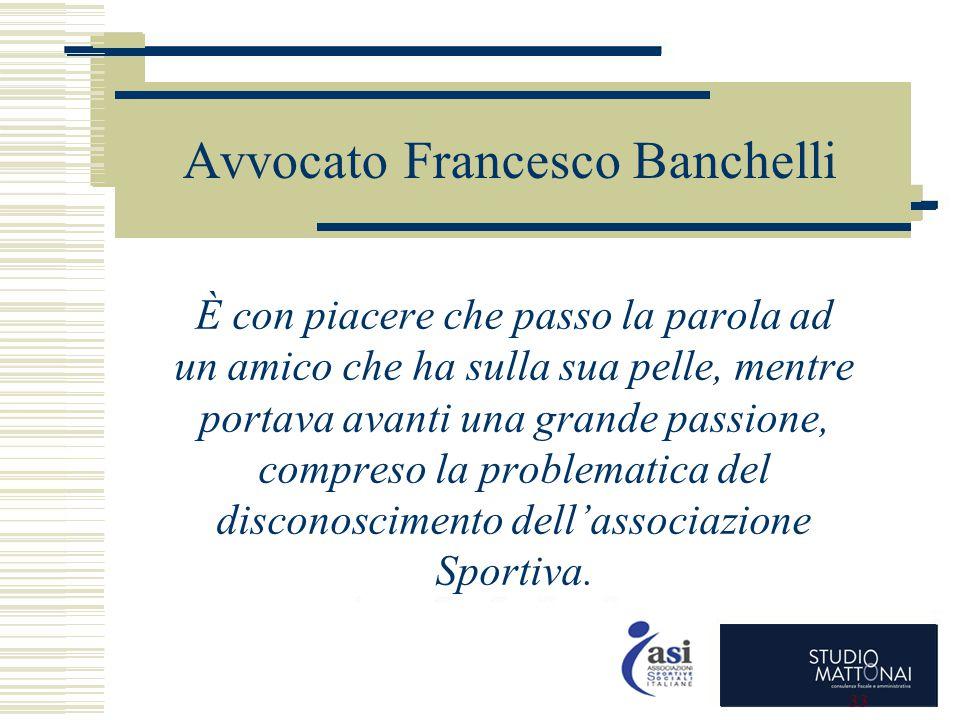 Avvocato Francesco Banchelli