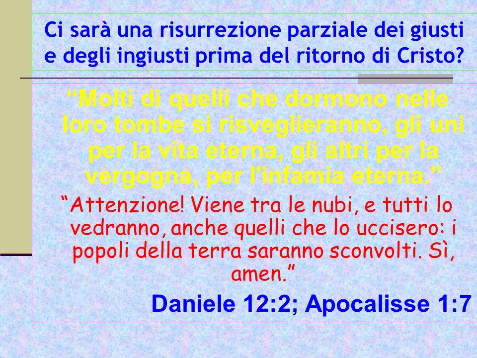Daniele 12:2; Apocalisse 1:7