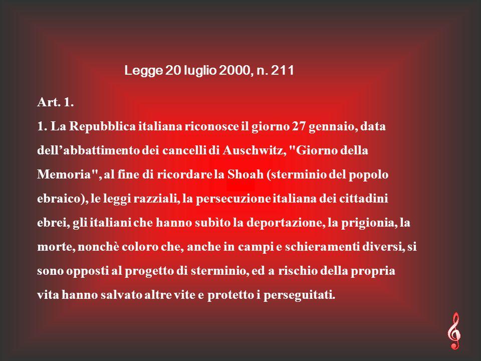 Legge 20 luglio 2000, n. 211