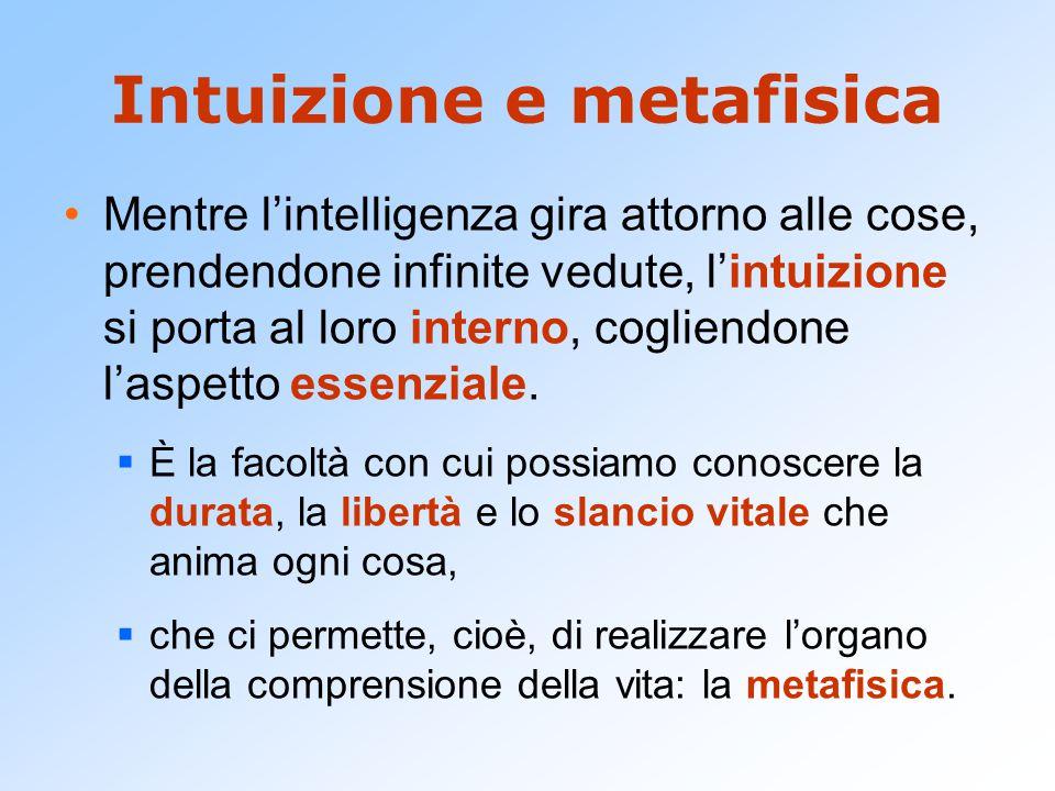 Intuizione e metafisica