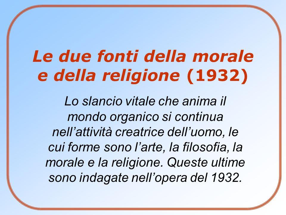 Le due fonti della morale e della religione (1932)