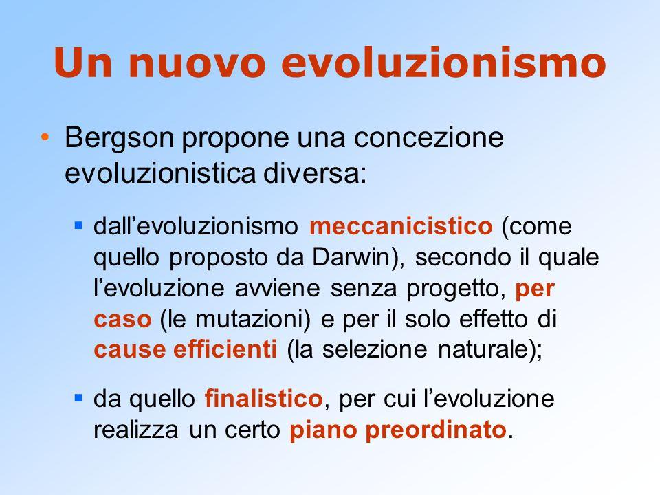 Un nuovo evoluzionismo