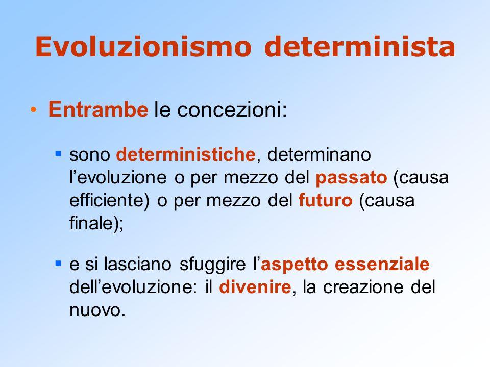 Evoluzionismo determinista