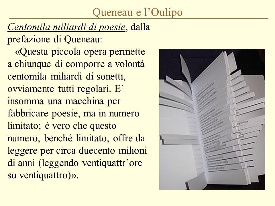 Queneau e l'Oulipo