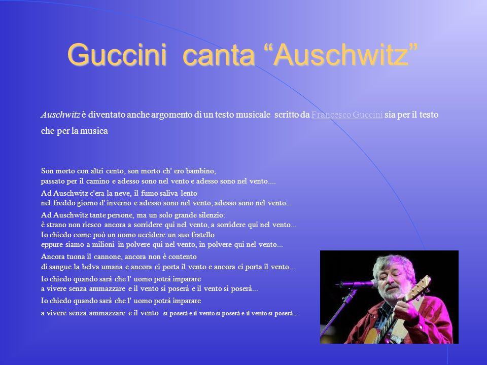 Guccini canta Auschwitz