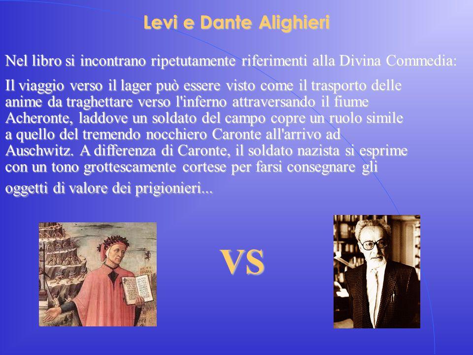 VS Levi e Dante Alighieri