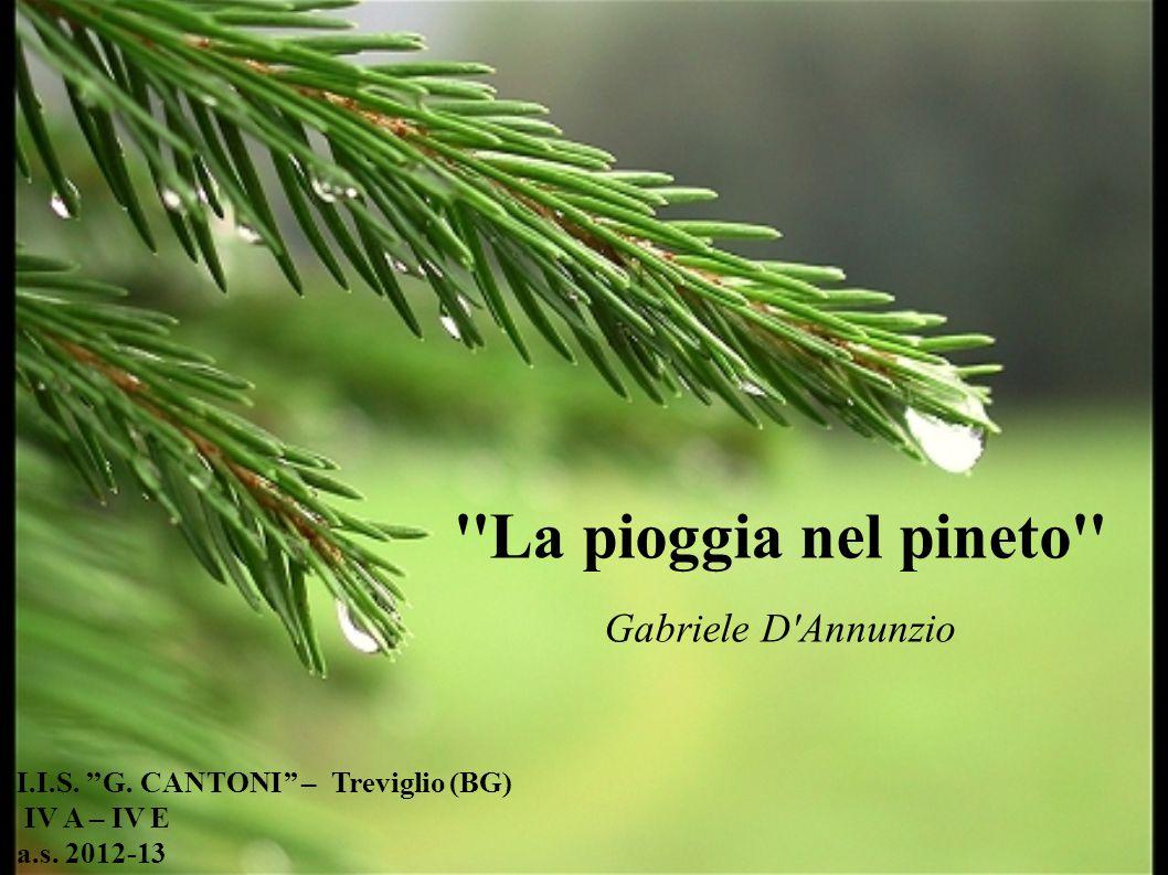 I.I.S. ''G. Cantoni'' – Treviglio (BG) IV A – IV E a.s. 2012-13