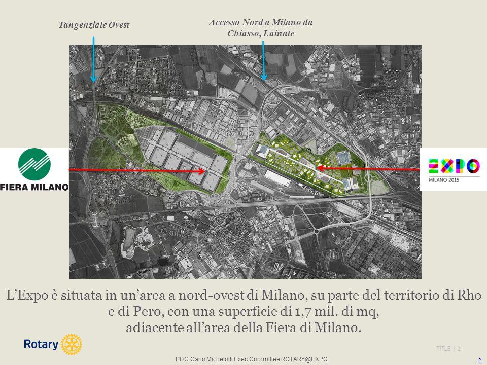 Accesso Nord a Milano da Chiasso, Lainate