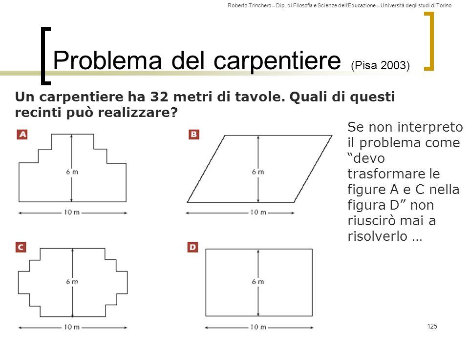 Problema del carpentiere (Pisa 2003)