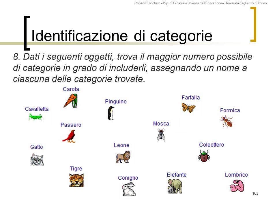 Identificazione di categorie