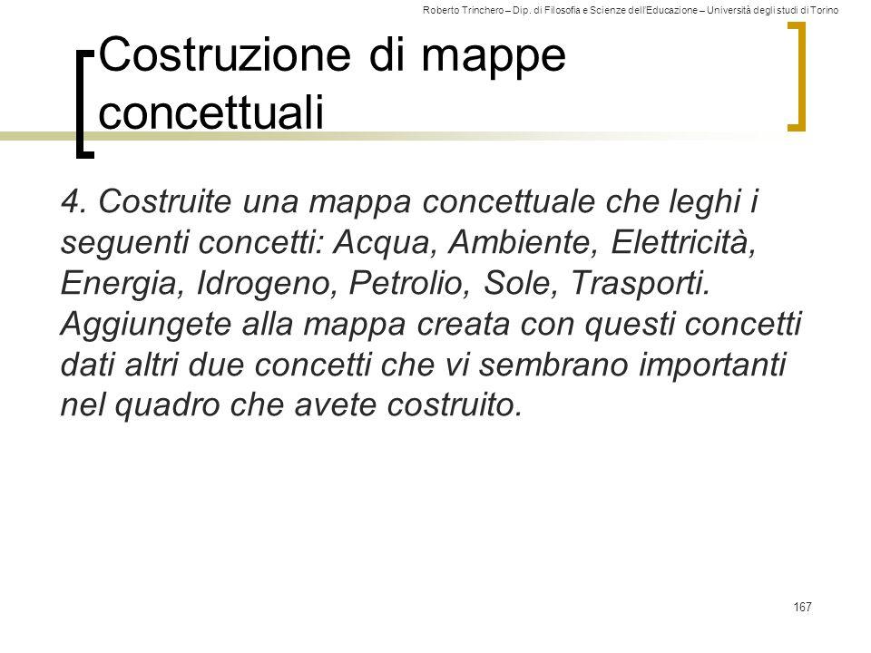 Costruzione di mappe concettuali