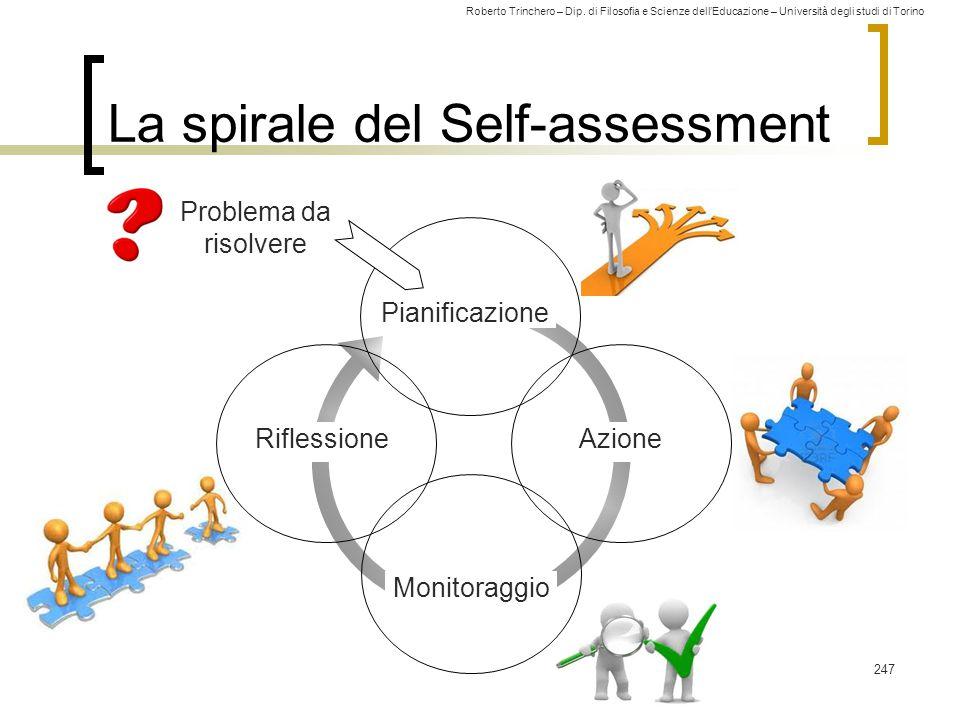 La spirale del Self-assessment