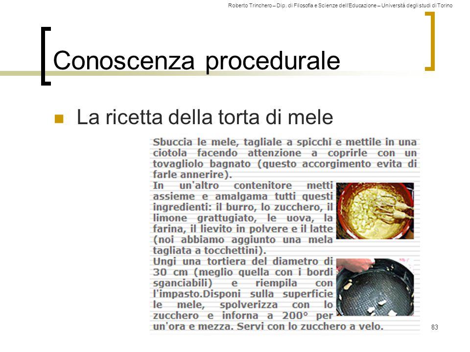 Conoscenza procedurale