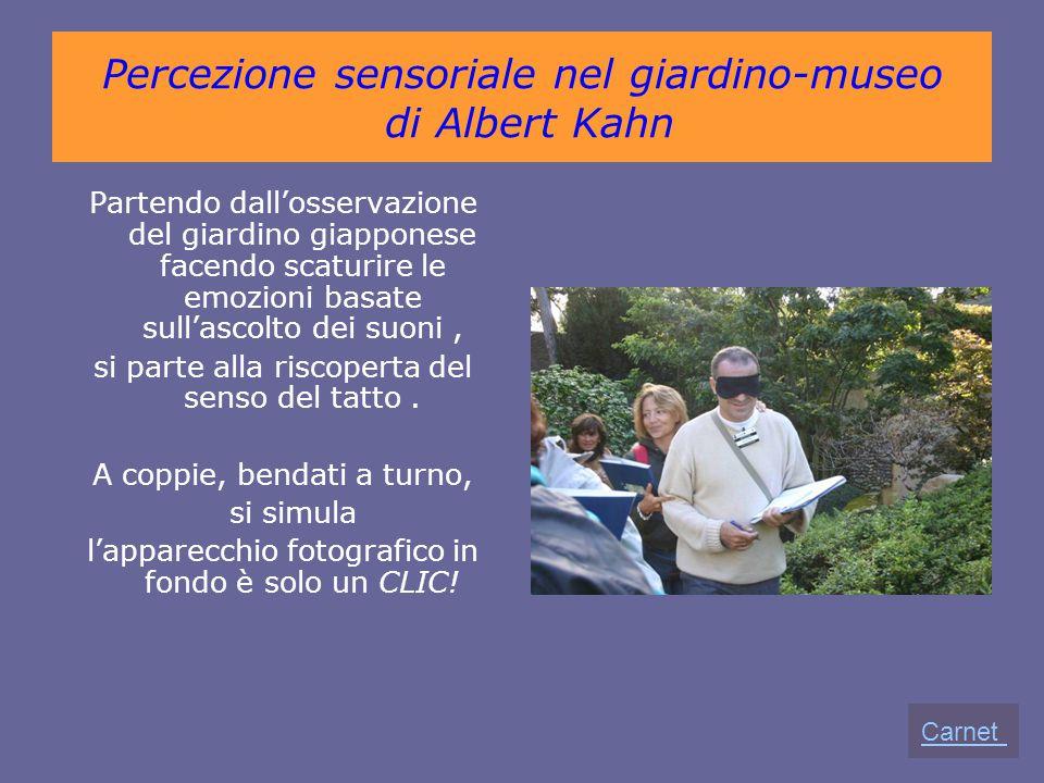Percezione sensoriale nel giardino-museo di Albert Kahn