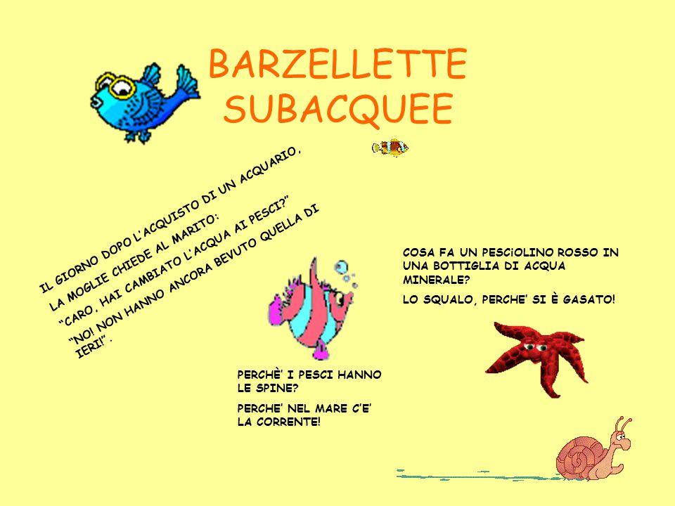 BARZELLETTE SUBACQUEE