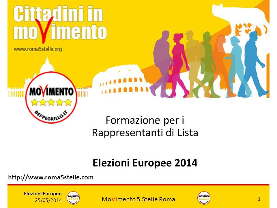 Formazione per i Rappresentanti di Lista Elezioni Europee 2014
