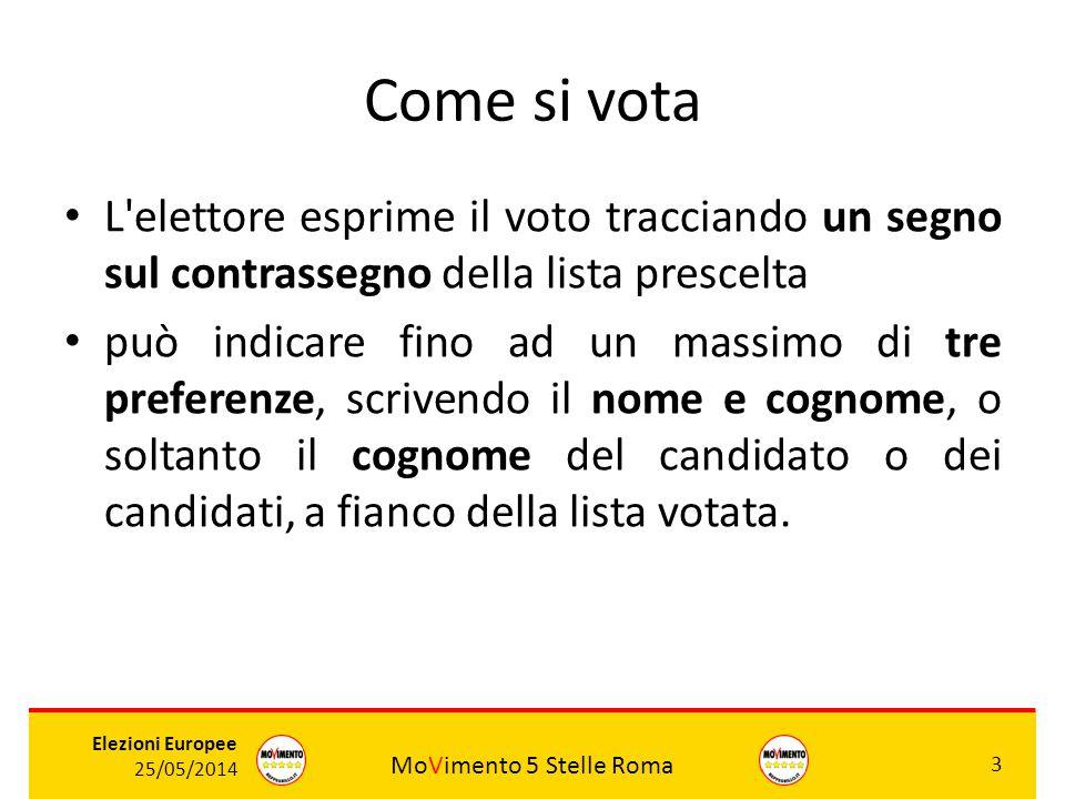 Come si vota L elettore esprime il voto tracciando un segno sul contrassegno della lista prescelta.