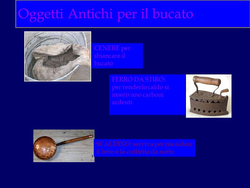 Oggetti Antichi per il bucato
