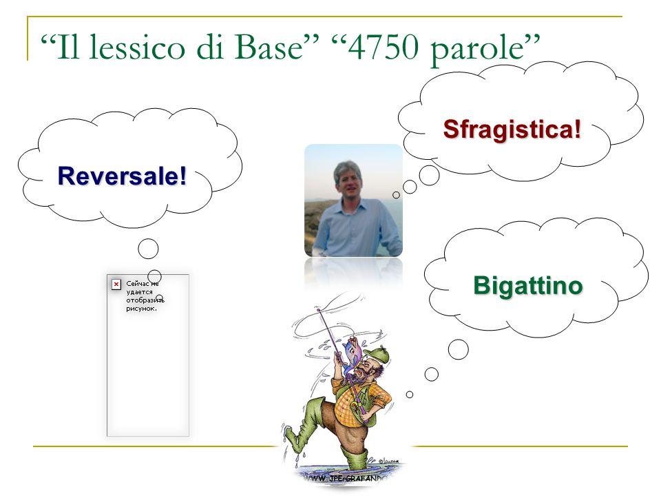 Il lessico di Base 4750 parole