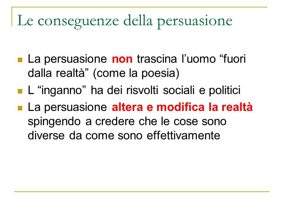Le conseguenze della persuasione