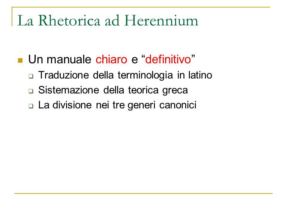 La Rhetorica ad Herennium