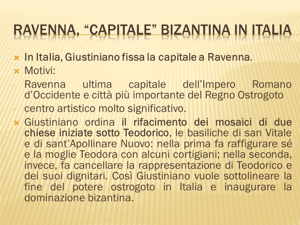 Ravenna, capitale bizantina in italia