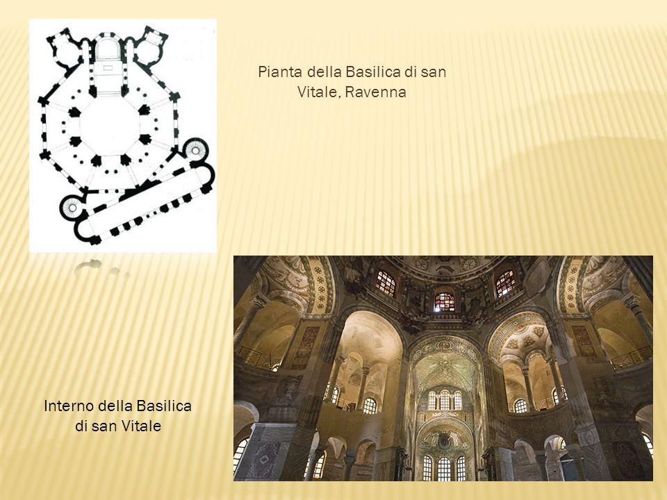 Pianta della Basilica di san Vitale, Ravenna