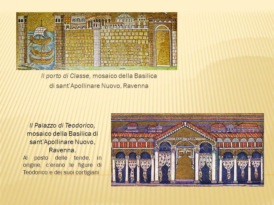 Il porto di Classe, mosaico della Basilica