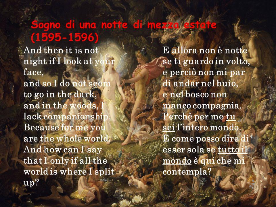 Sogno di una notte di mezza estate (1595-1596)