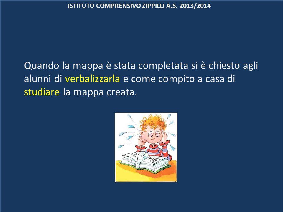 ISTITUTO COMPRENSIVO ZIPPILLI A.S. 2013/2014