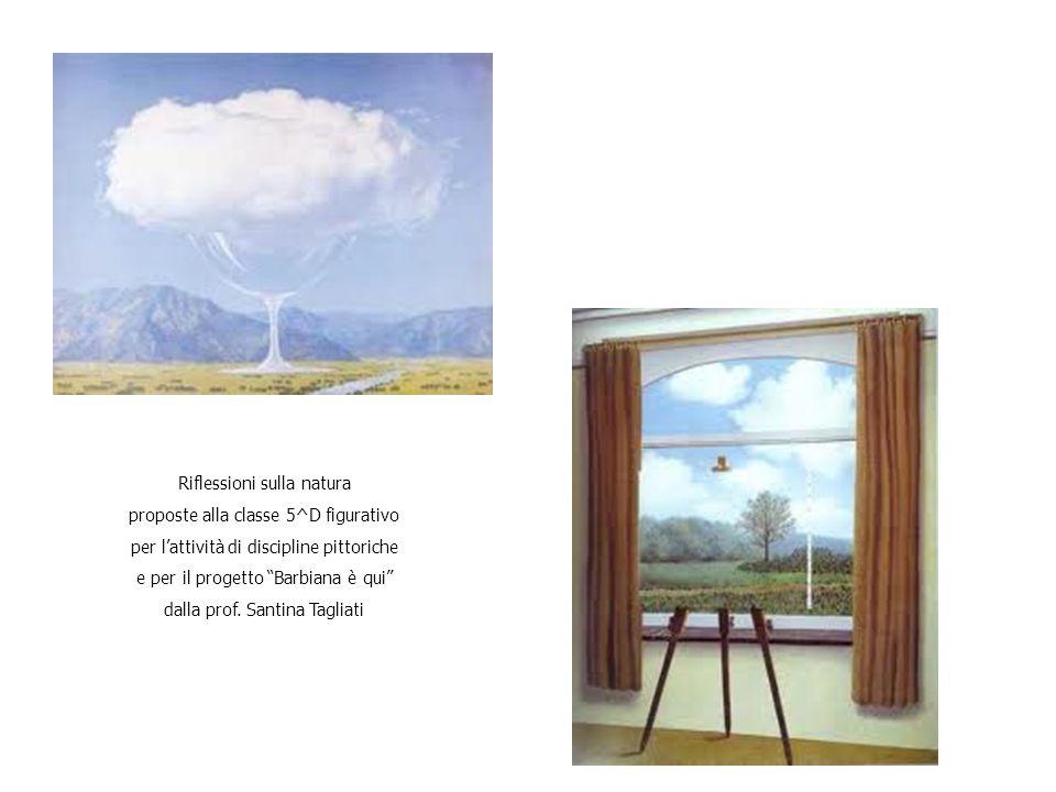 Riflessioni sulla natura proposte alla classe 5^D figurativo