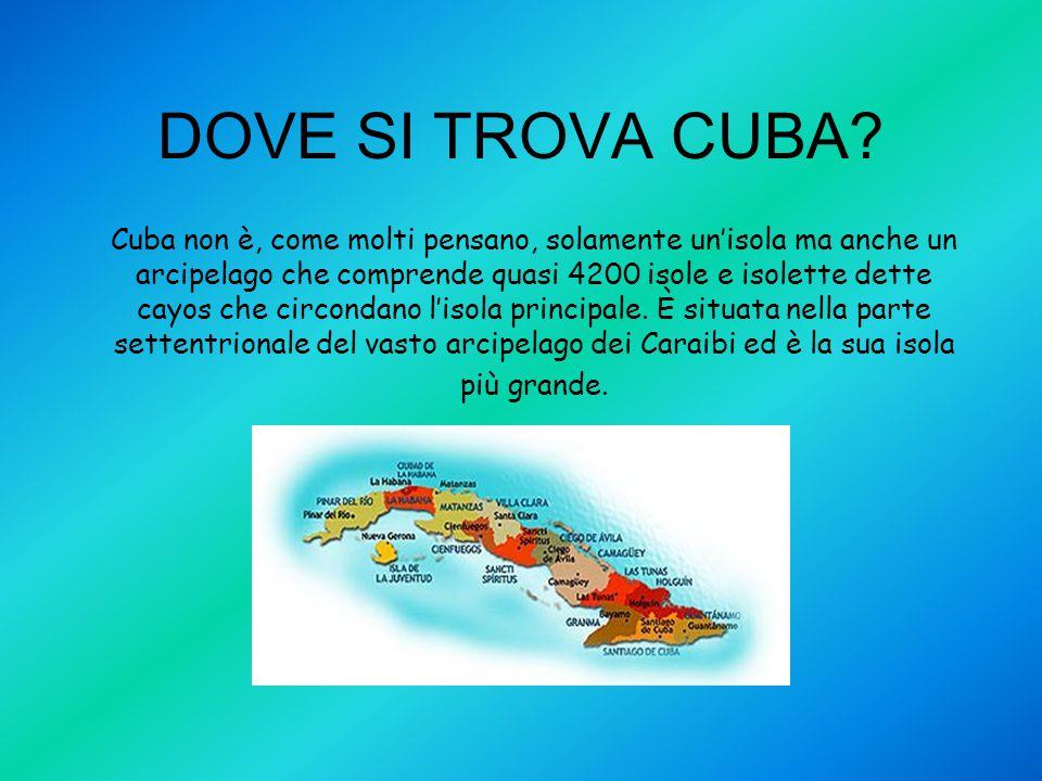 DOVE SI TROVA CUBA