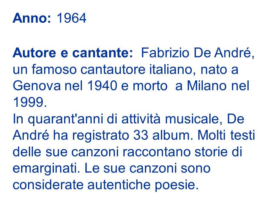Anno: 1964