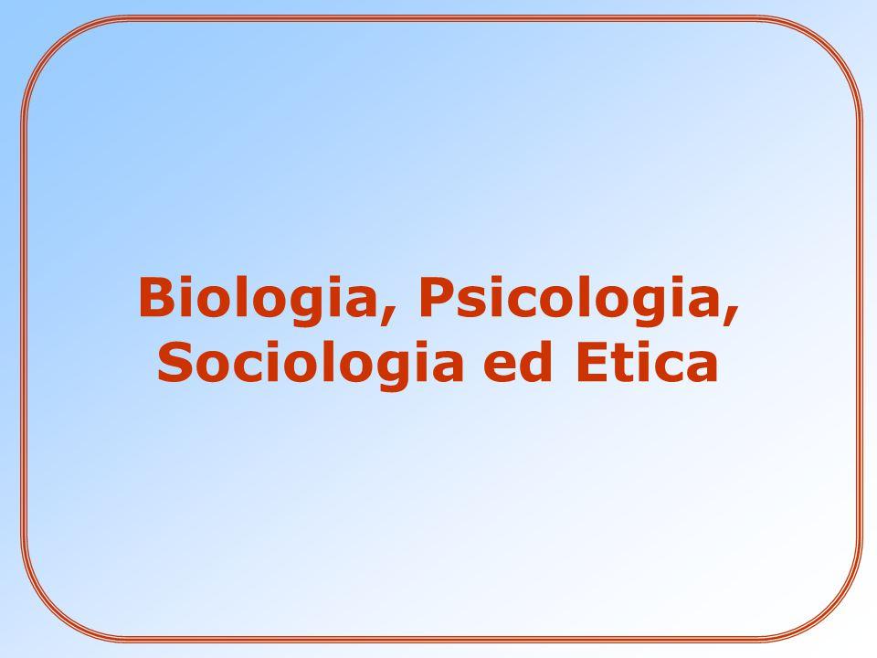 Biologia, Psicologia, Sociologia ed Etica