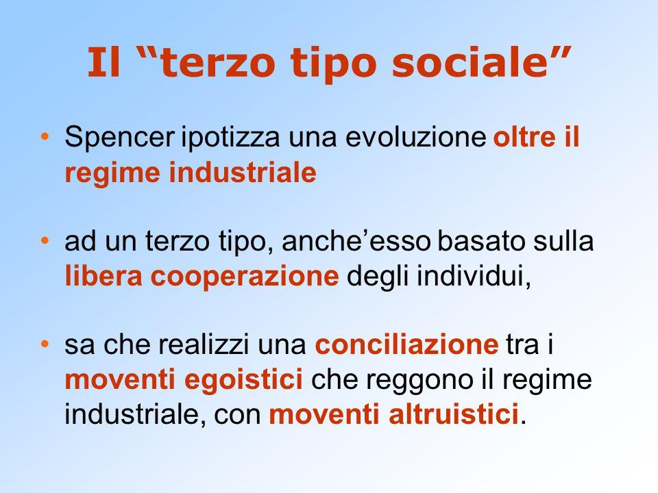 Il terzo tipo sociale
