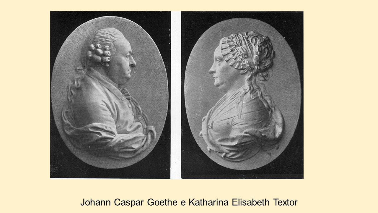 Johann Caspar Goethe e Katharina Elisabeth Textor