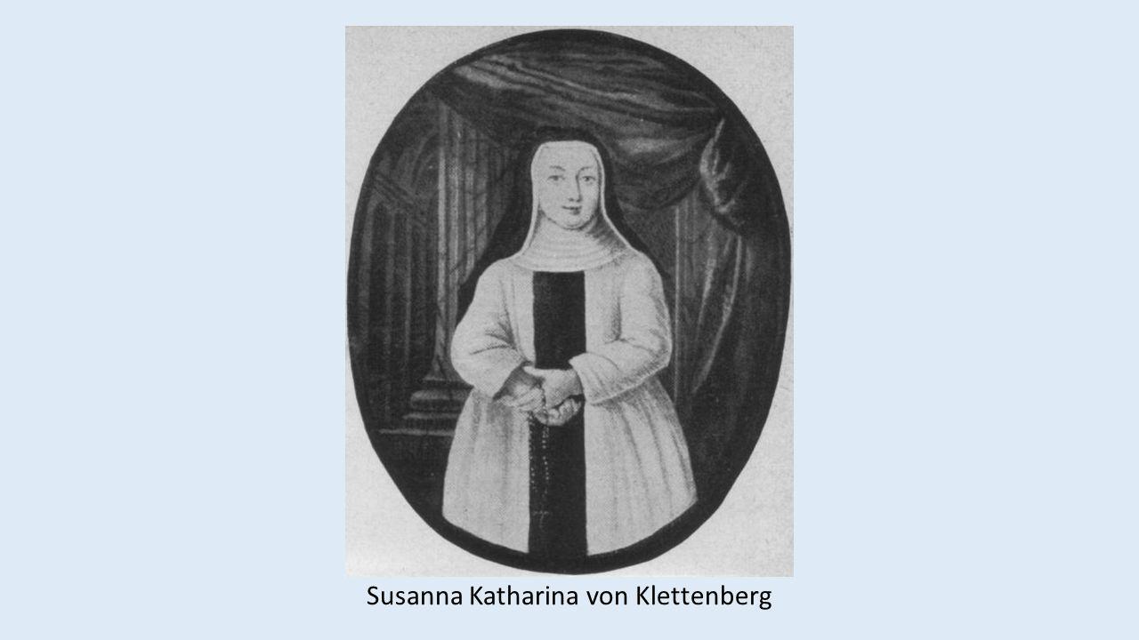 Susanna Katharina von Klettenberg