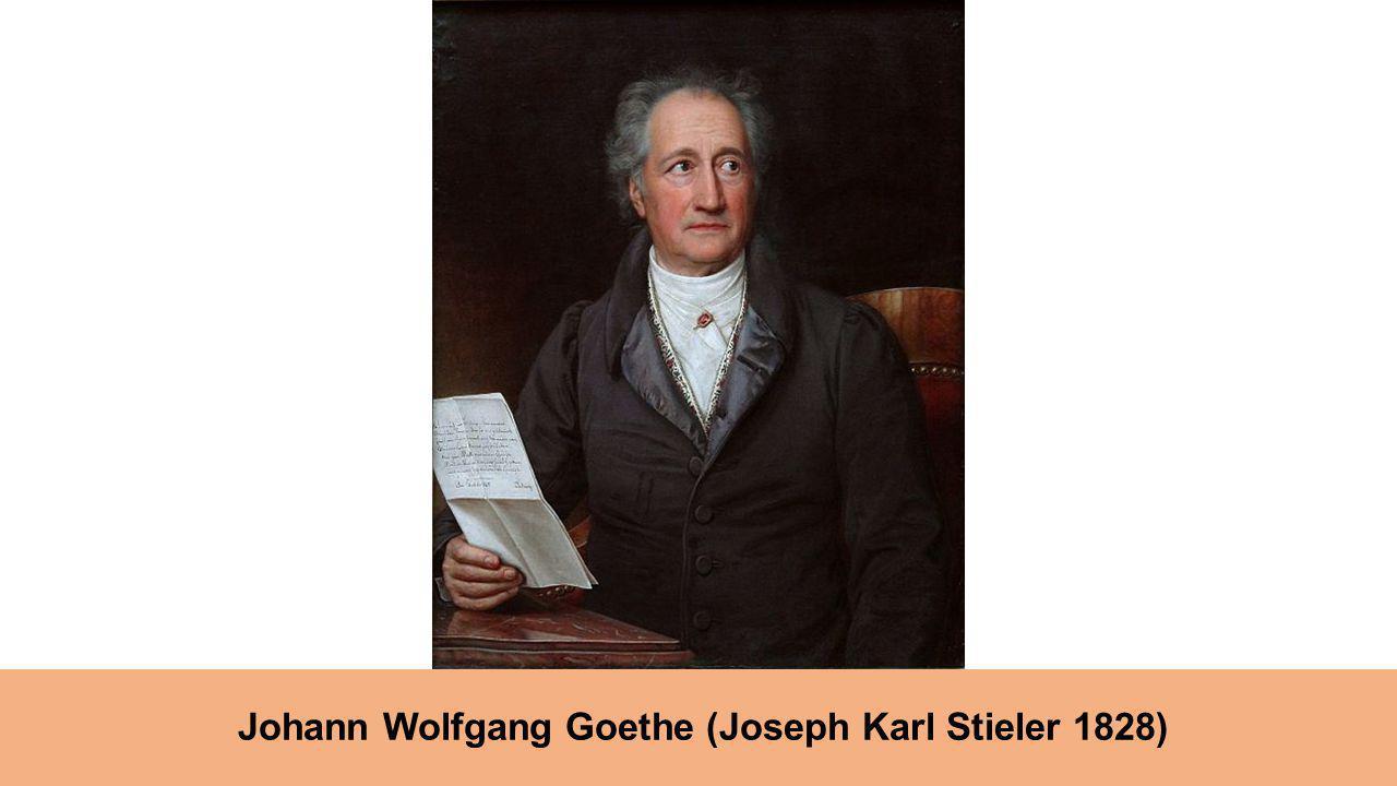 Johann Wolfgang Goethe (Joseph Karl Stieler 1828)