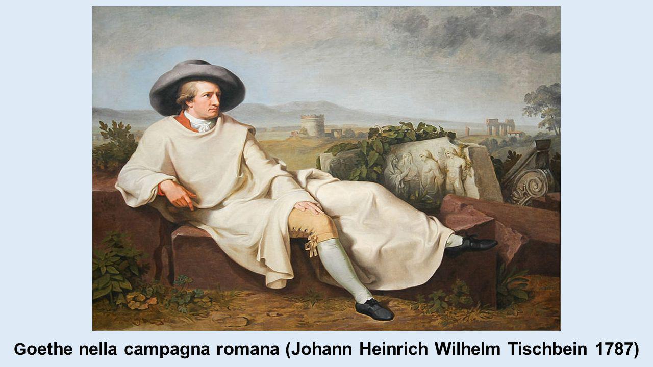 Goethe nella campagna romana (Johann Heinrich Wilhelm Tischbein 1787)