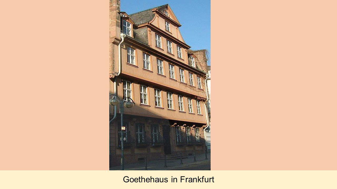 Goethehaus in Frankfurt