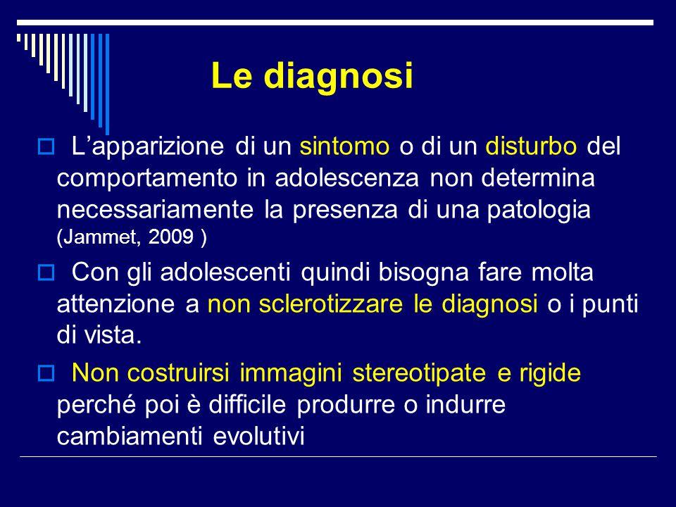 Le diagnosi