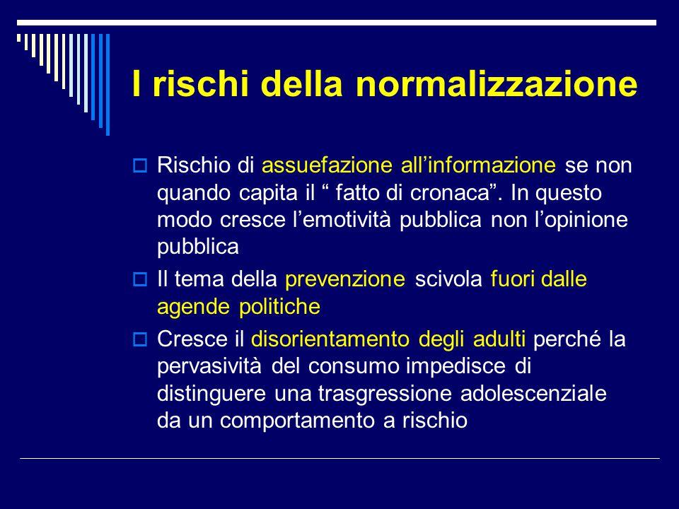 I rischi della normalizzazione
