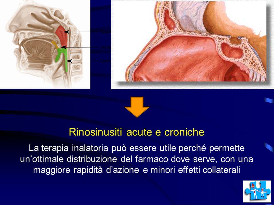 Rinosinusiti acute e croniche
