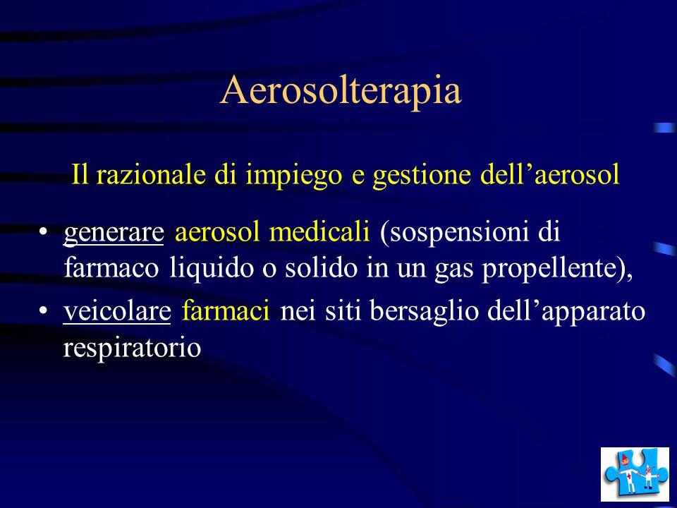 Aerosolterapia Il razionale di impiego e gestione dell'aerosol