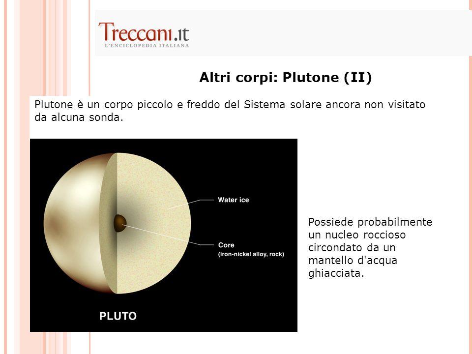 Altri corpi: Plutone (II)