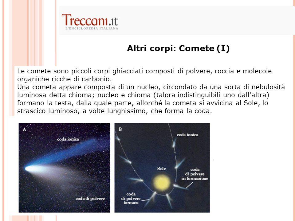 Altri corpi: Comete (I)