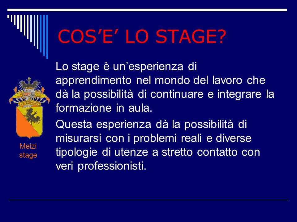 COS'E' LO STAGE